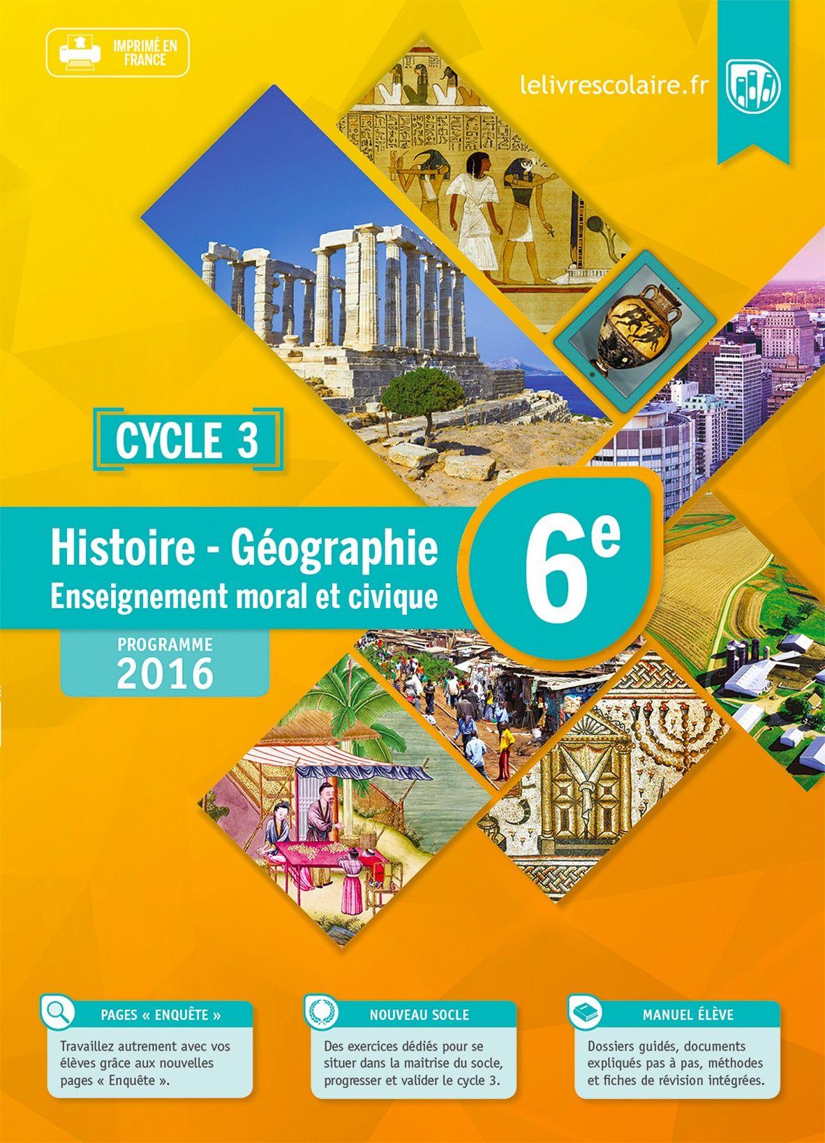 Communauté du manuel Histoire-Géographie 6e 2016