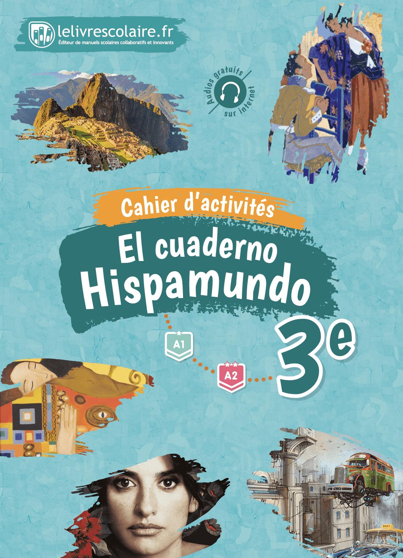 Couverture du manuel scolaire : Espagnol 3e - Cahier d'activités