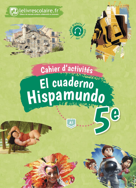 Couverture du manuel scolaire : Espagnol 5e - Cahier d'activités
