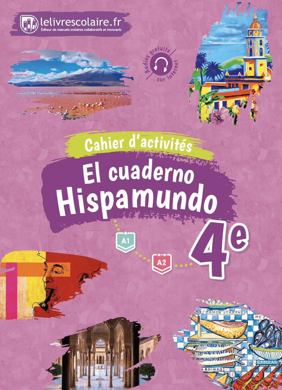 Couverture du manuel scolaire : Espagnol 4e - Cahier d'activités