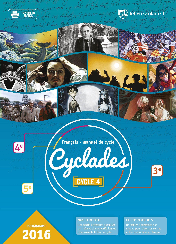 Couverture du manuel scolaire : Cyclades
