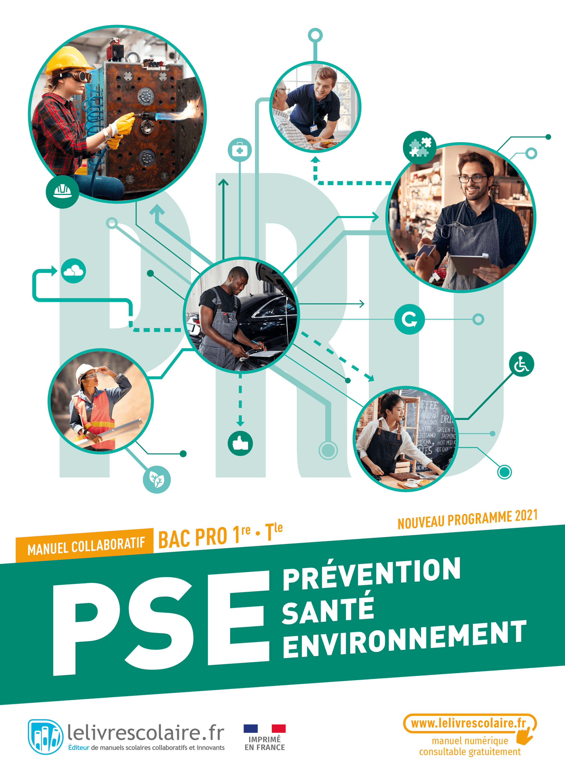 Couverture du manuel scolaire : PSE 1re-Terminale Bac Pro