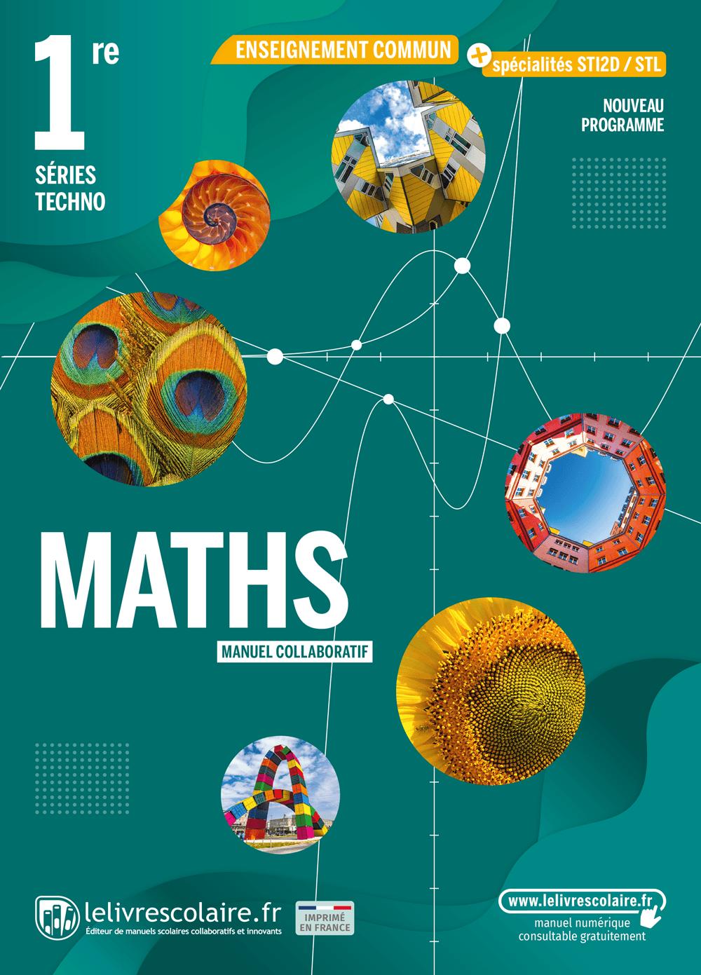 Communauté du manuel Mathématiques 1re Section Technologique 2021