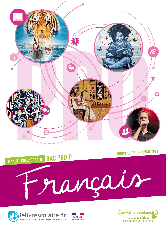 Couverture du manuel scolaire : Français Terminale Bac Pro
