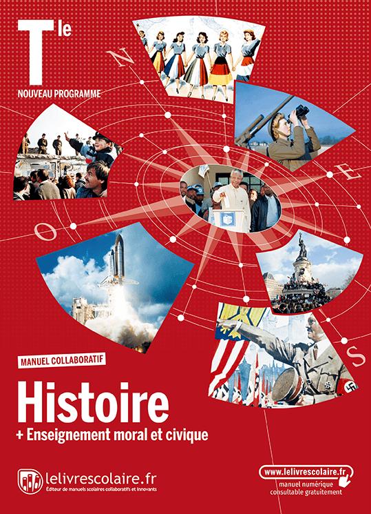 Couverture du manuel scolaire : Histoire Terminale