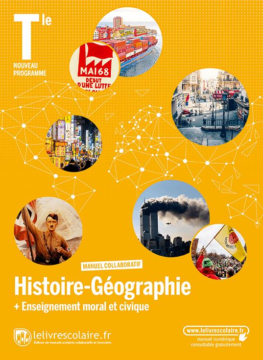 Couverture du manuel scolaire : Histoire-Géographie Terminale