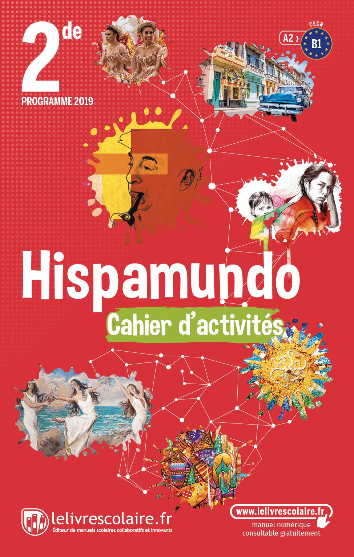 Couverture du manuel scolaire : Espagnol 2de - Cahier d'activités