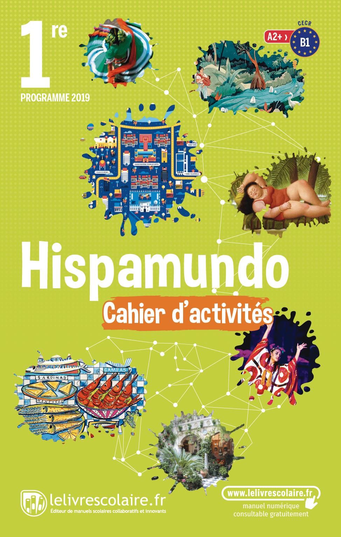 Couverture du manuel scolaire : Espagnol 1re - Cahier d'activités