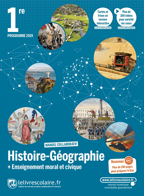 Couverture Histoire-Géographie 1re