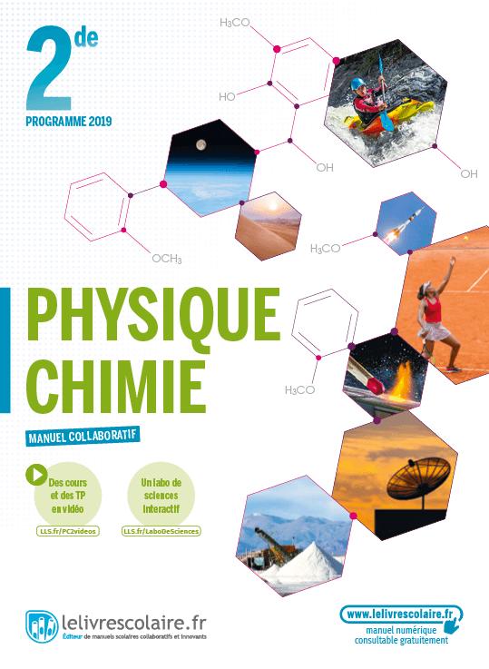 Couverture Physique-Chimie 2de