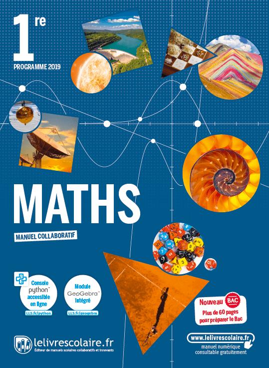 Couverture Mathématiques 1re