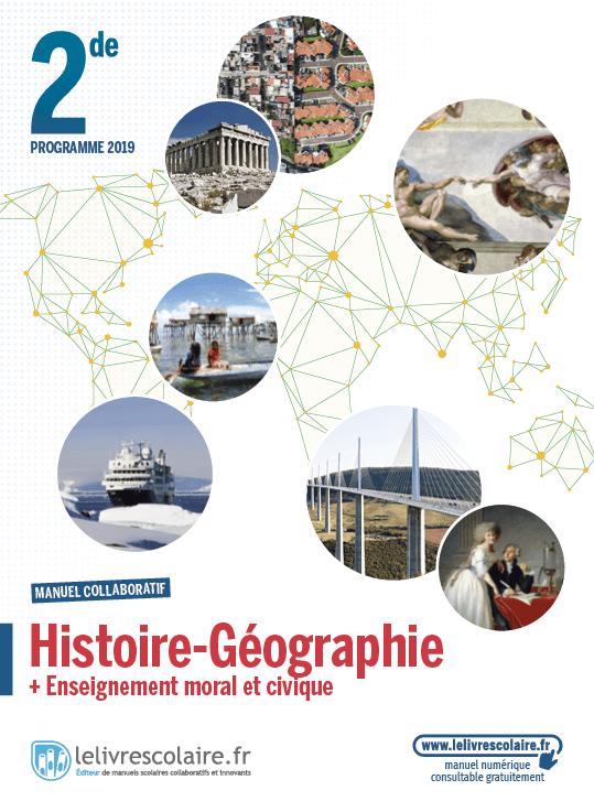 Couverture Histoire-Géographie 2de