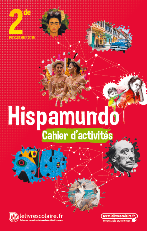Couverture live Espagnol 2de - Cahier d'activités