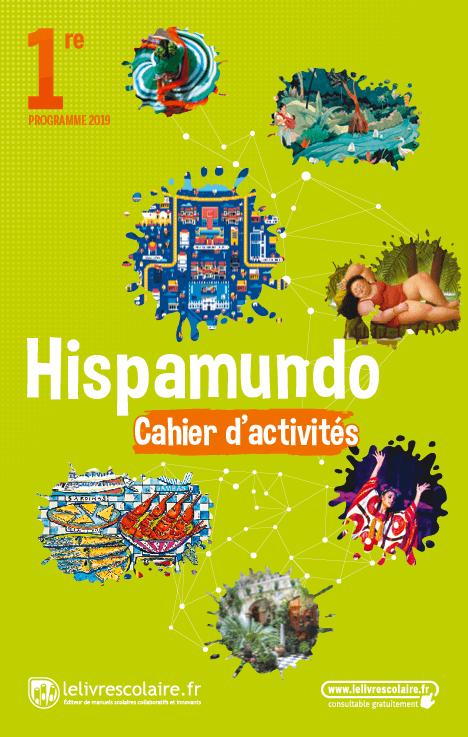 Couverture live Espagnol 1re - Cahier d'activités