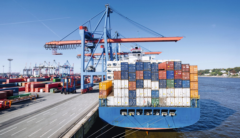 Logo Mers et océans : vecteurs essentiels de la mondialisation