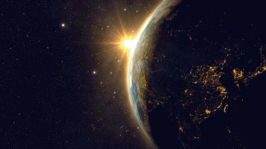 Logo La Terre dans l'Univers