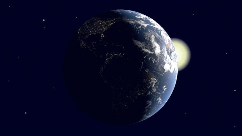 Logo Le bilan radiatif terrestre