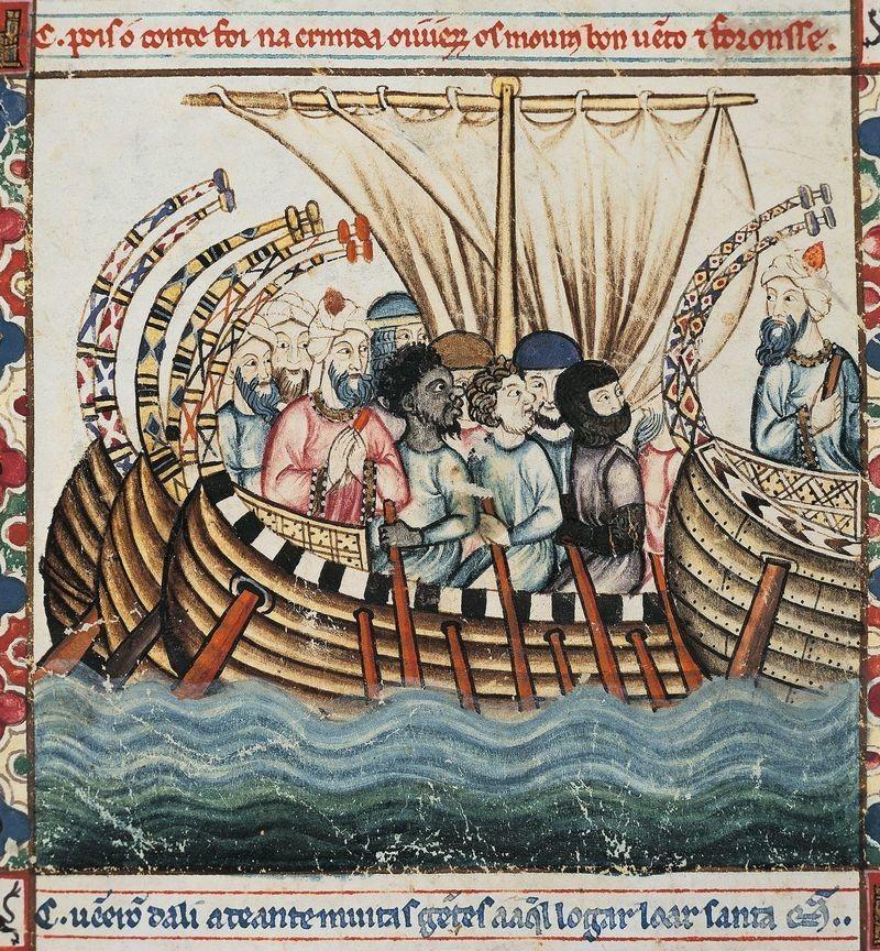 Logo La Méditerranée médiévale : espace d'échanges et de conflits à la croisée de trois civilisations