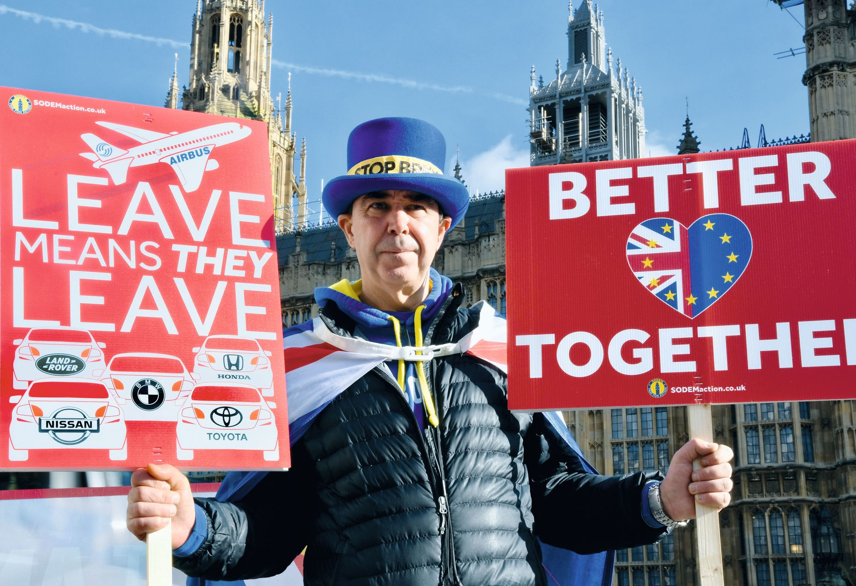 Manifestation anti-Brexit