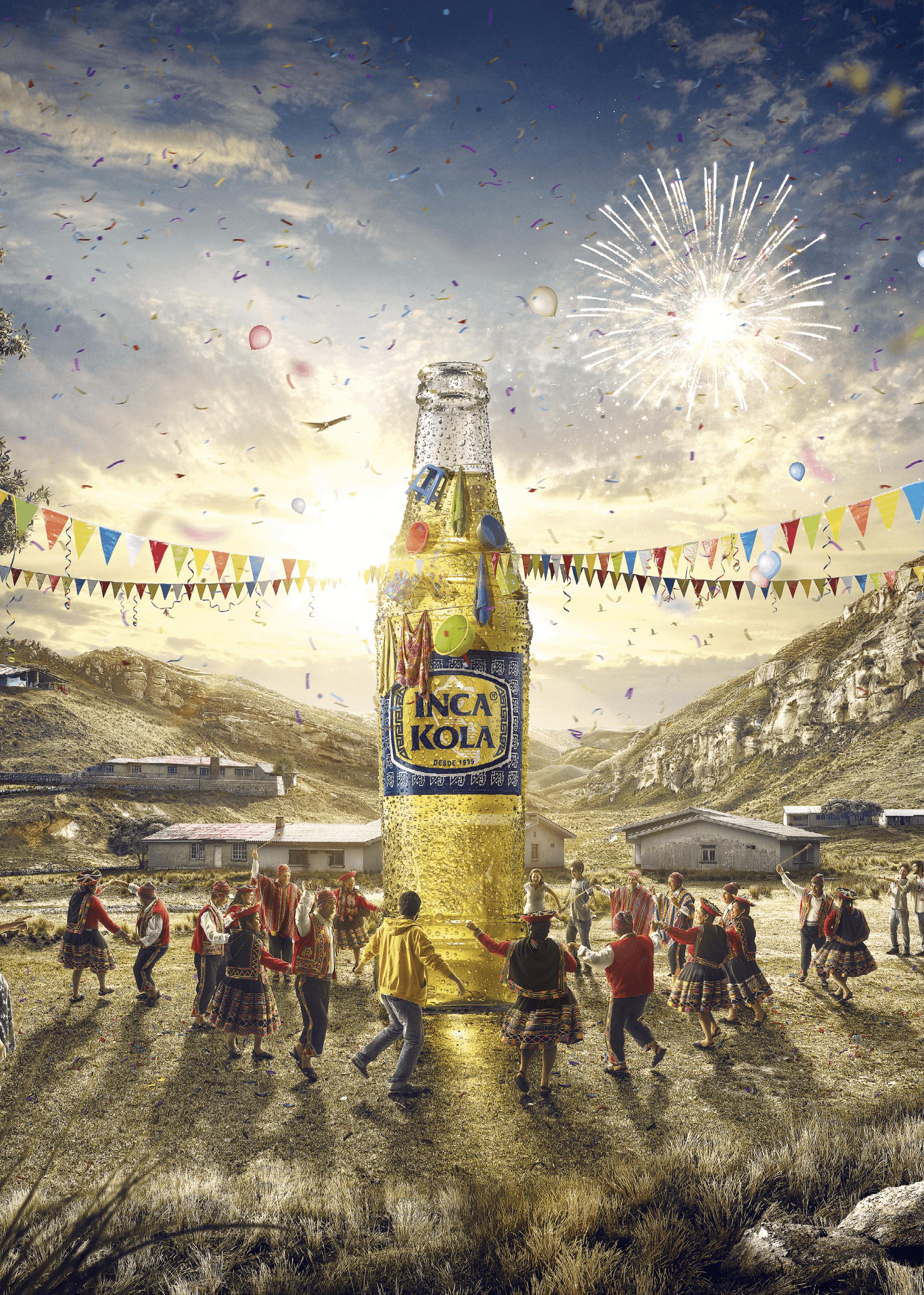 Midas Digital Studio, publicidad Inca Kola, 2015