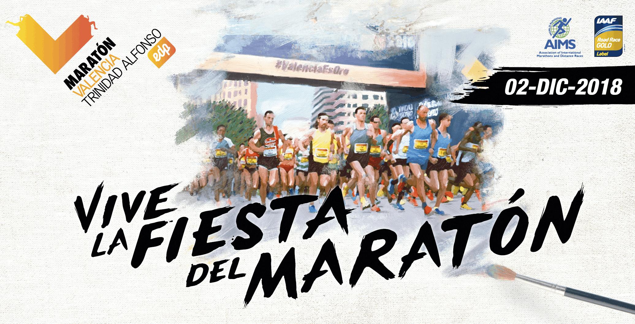 Campaña publicitaria del Maratón de Valencia, 2018