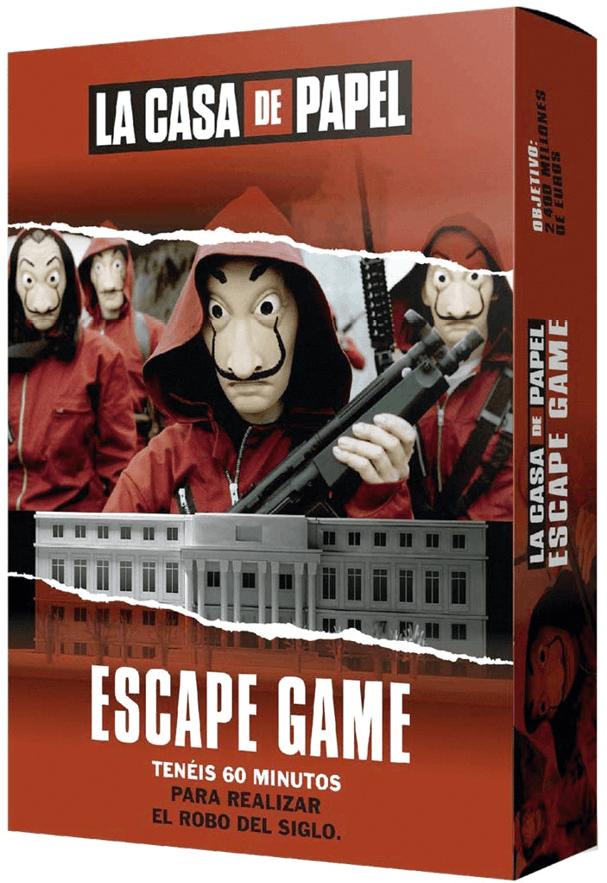 Juego de sociedad, La Casa de Papel, 2019