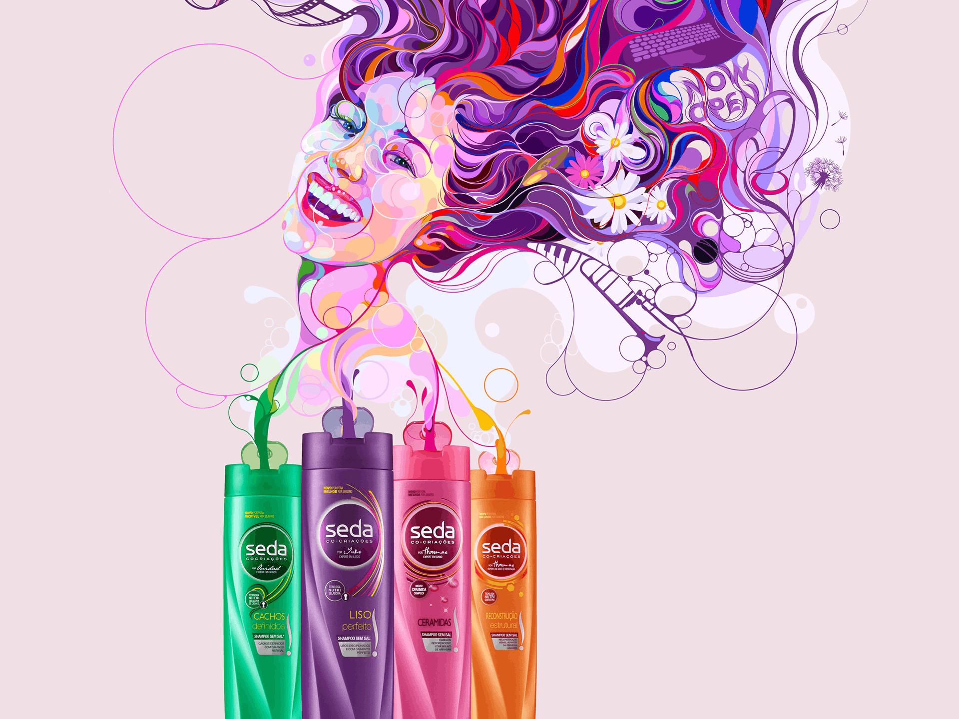 Publicidad Seda Shampoo, 2018