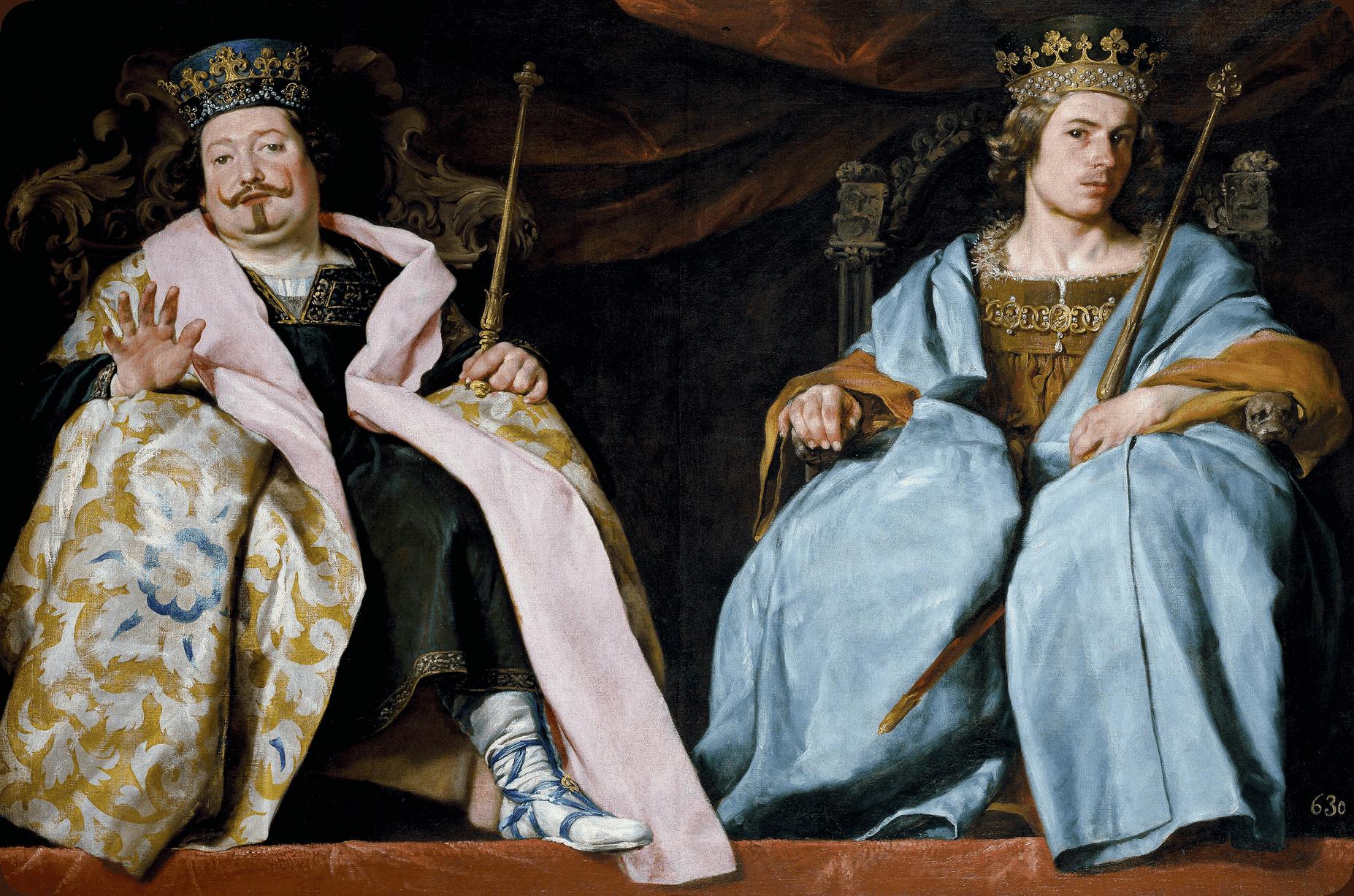 Alonso Cano, Dos reyes de España, 1641