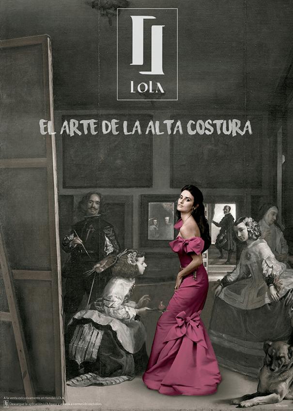 Lola Padilla, El arte de la alta costura, 2019.