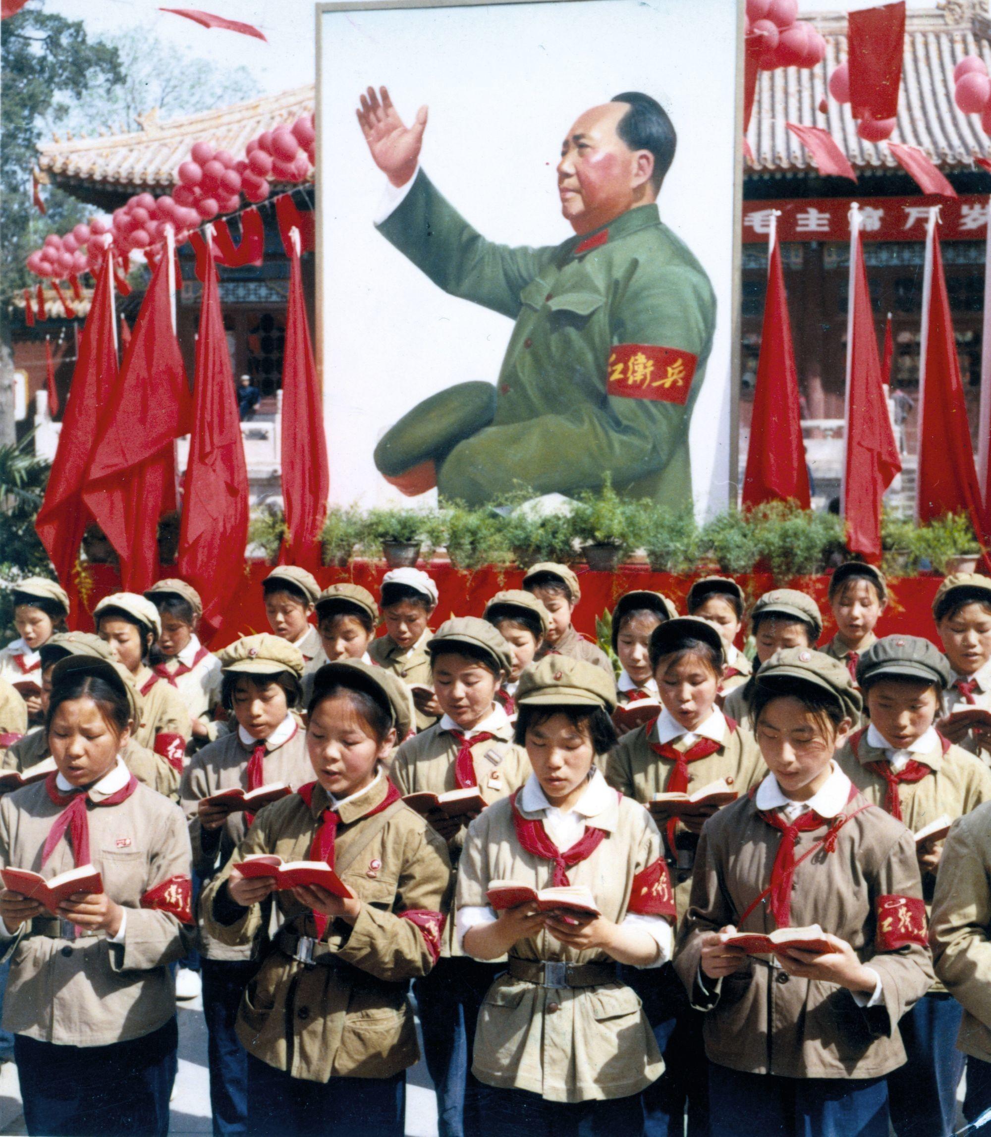 Rassemblement de gardes rouges à Pékin, 1966