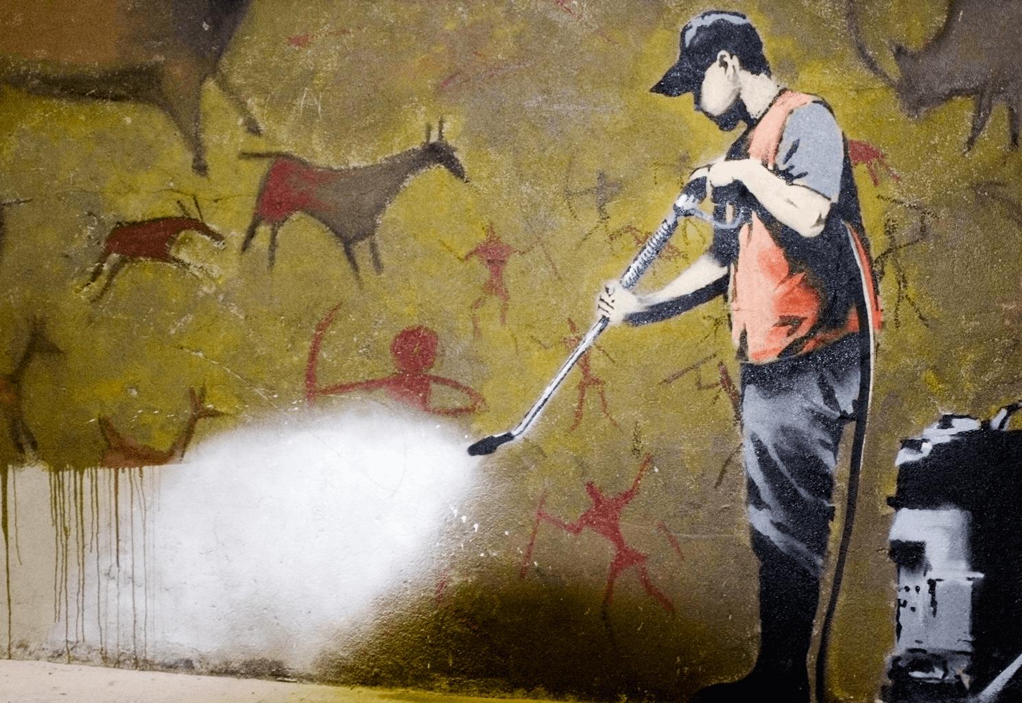 Réalisation de Banksy