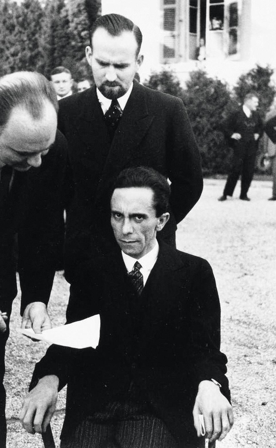 Joseph Goebbels, photographie d'Alfred Eisenstaedt prise en 1933