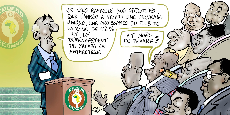 Caricature Glez, Jeune Afrique