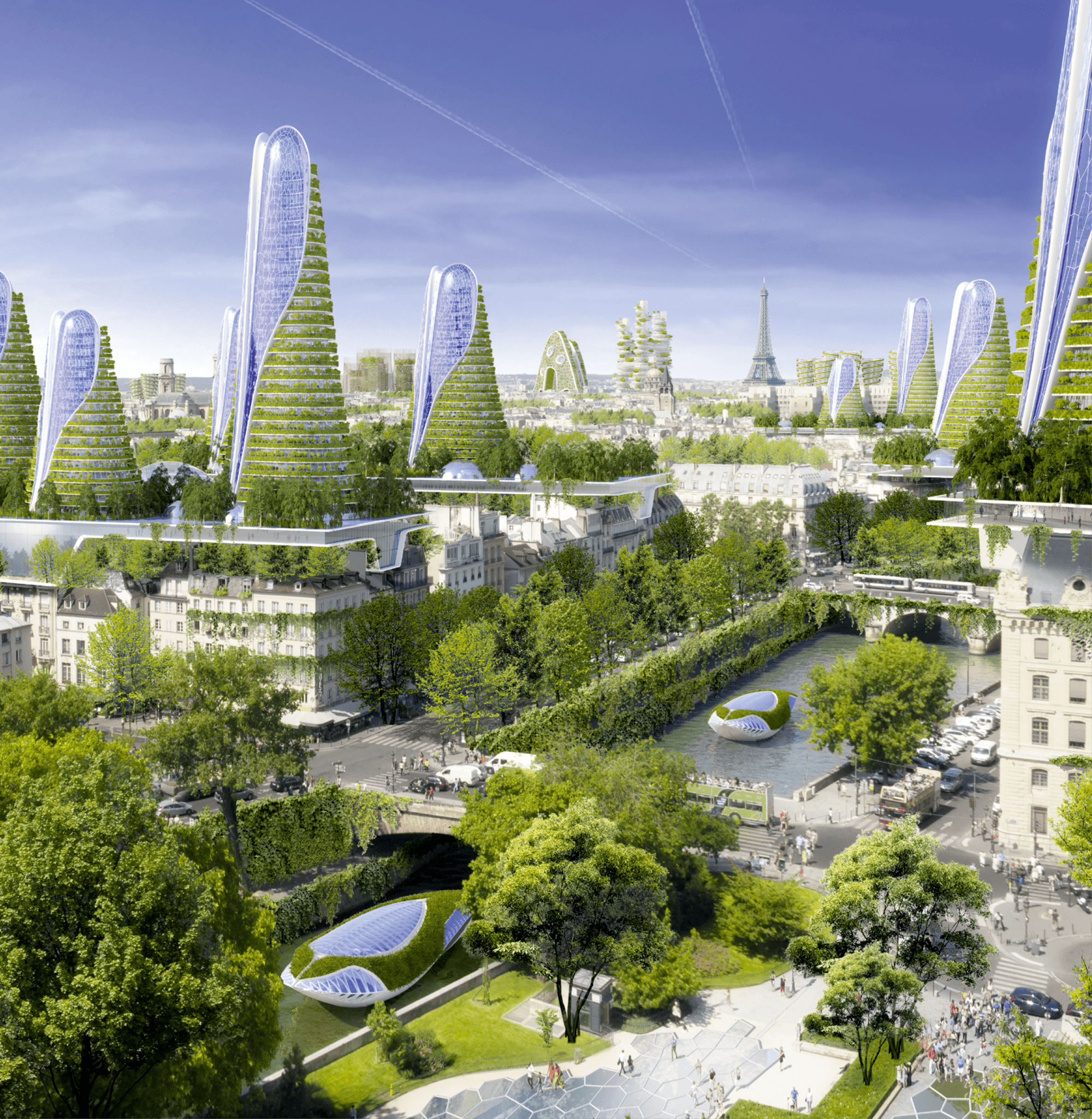 Paris Smart City, Vincent Callebaut Architectures