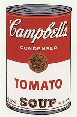 Pop art soup