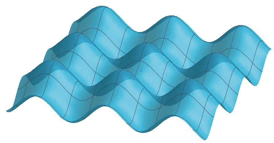 Surface représentant une fonction à deux variables