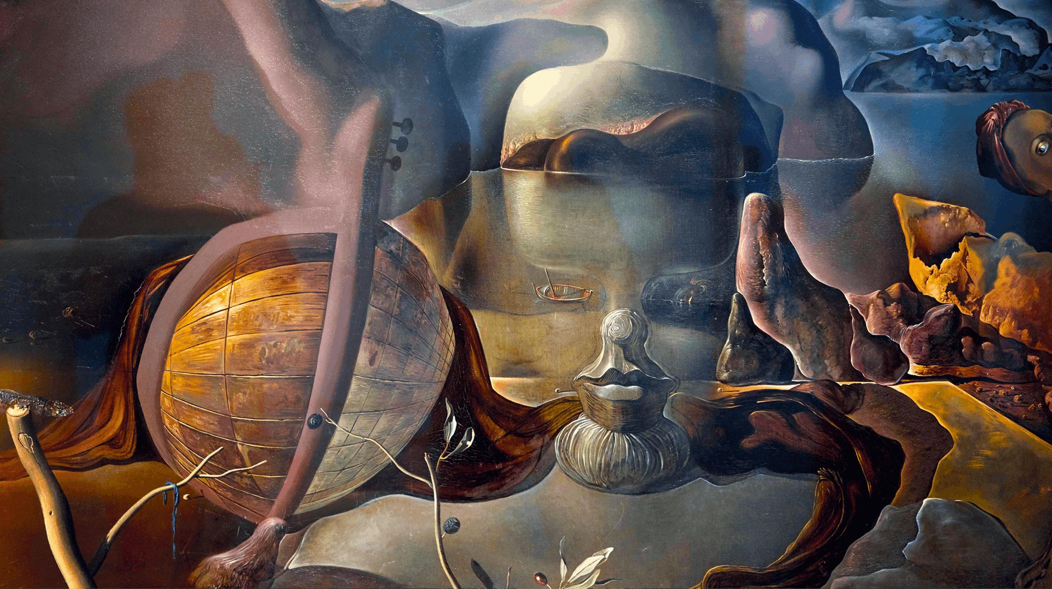 Salvador Dalí, L'énigme sans fin