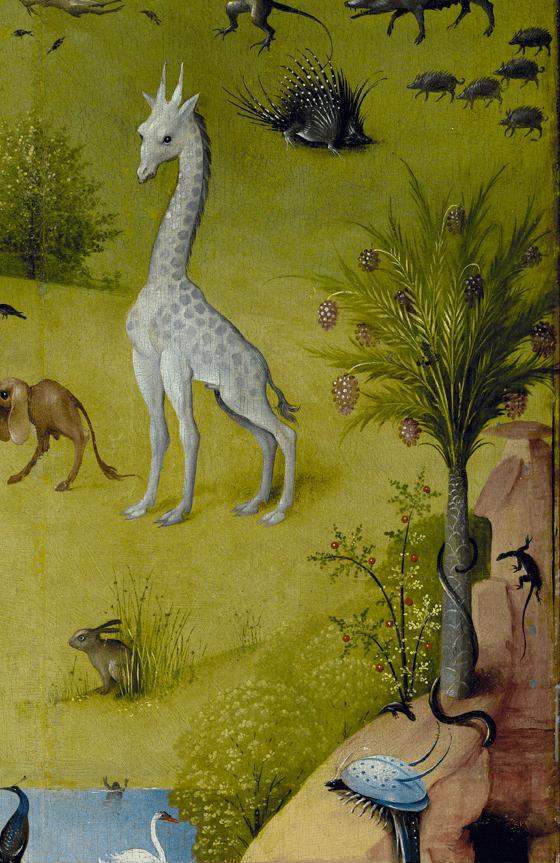 Jérôme Bosch, Le jardin des délices, 1494-1505, détail 3
