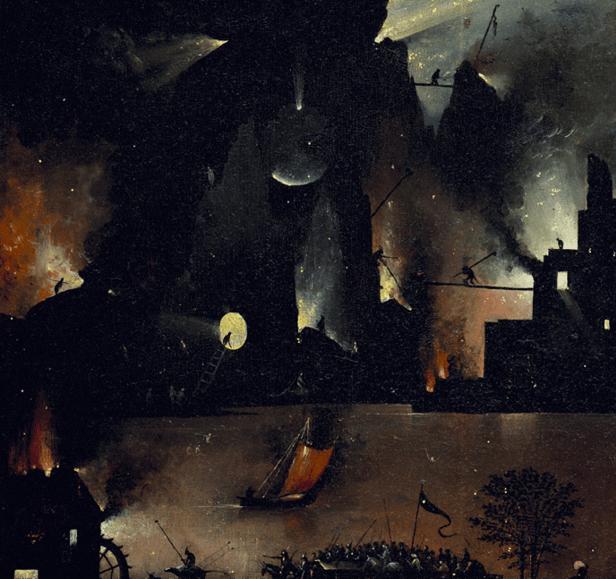 Jérôme Bosch, Le jardin des délices, 1494-1505, détail 4