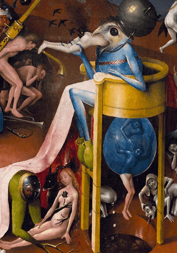 Jérôme Bosch, Le jardin des délices, 1494-1505, détail 5