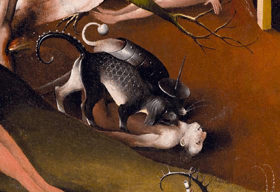 Jérôme Bosch, Le jardin des délices, 1494-1505, détail 6
