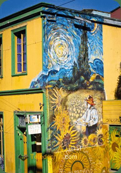 Street art Hommage aux ainés