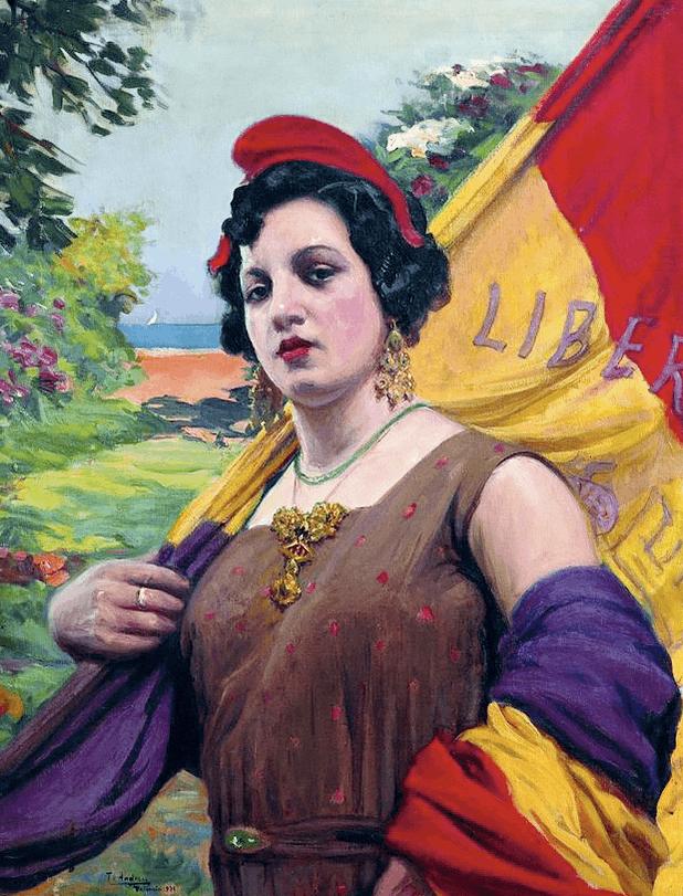 Teodora Andrew, Republica Española, 1931.