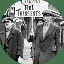 La crise de 1929 vue par le journal télévisé de TF1 en 1979, archives de l'INA.