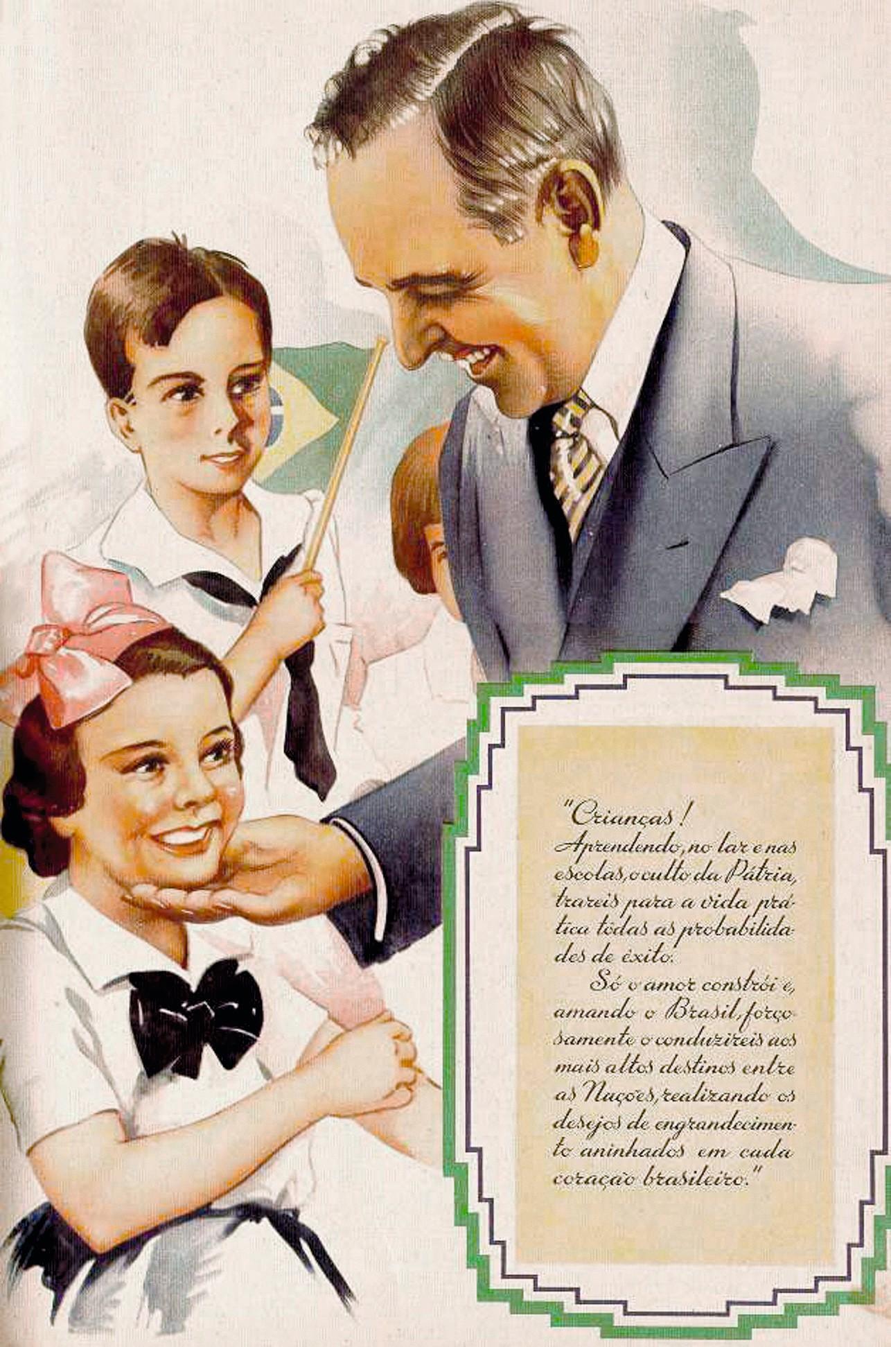 Affiche de propagande de l'Estado Novo