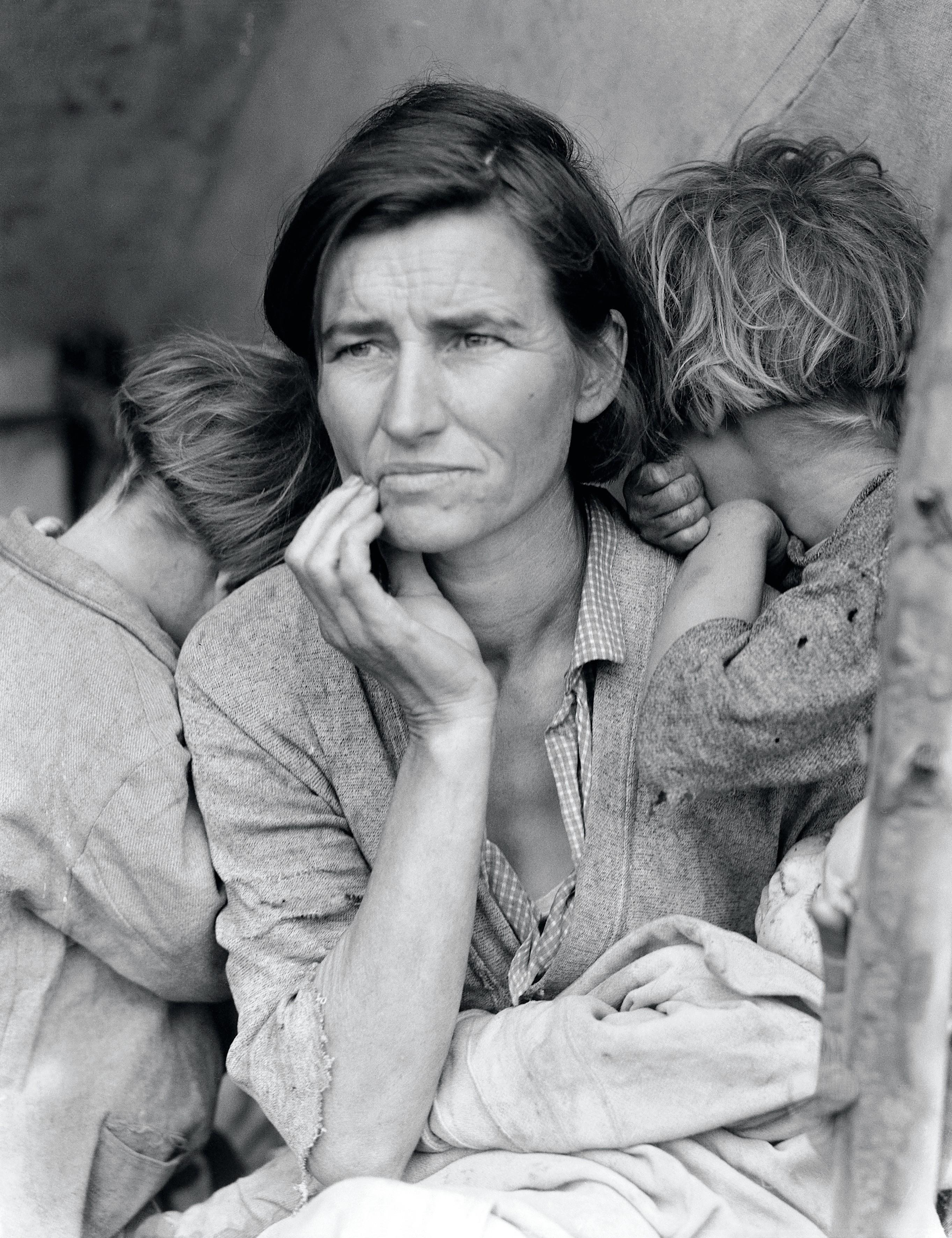 Dorothea Lange, «Migrant Mother, la mission que je n'oublierai jamais », Popular Photography 1960.