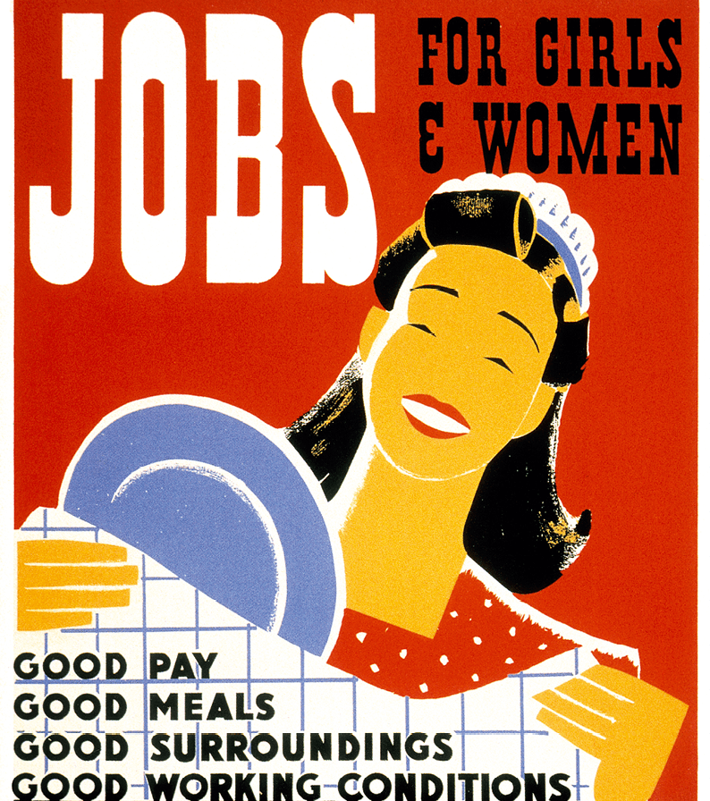 Albert M. Bender, Offre d'emplois, 1936-1941, affiche, Library of Congress, Washington.