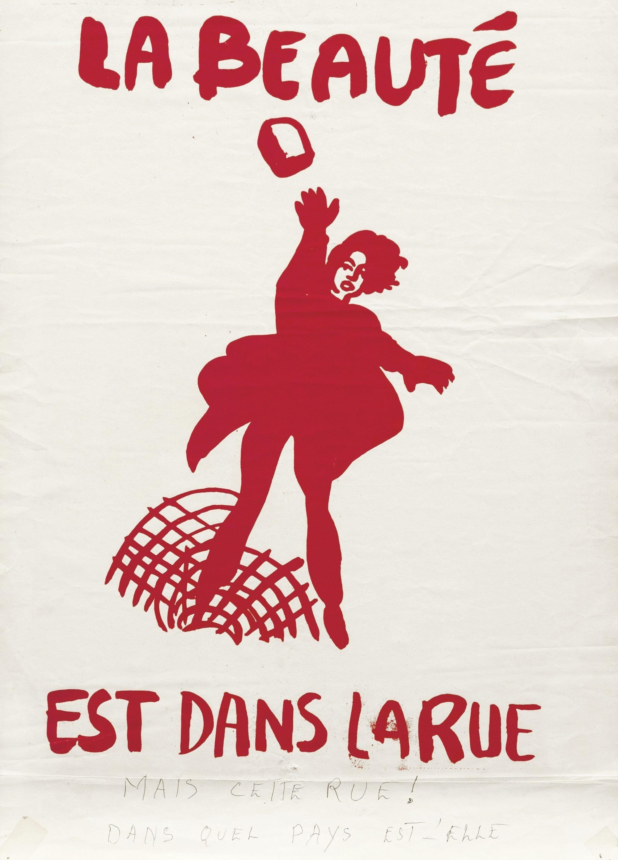 Affiche française, 1968