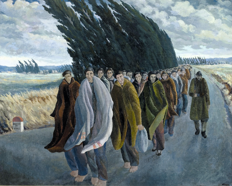 Josep Franch-Clapers, Camí de l'exili, 1940.