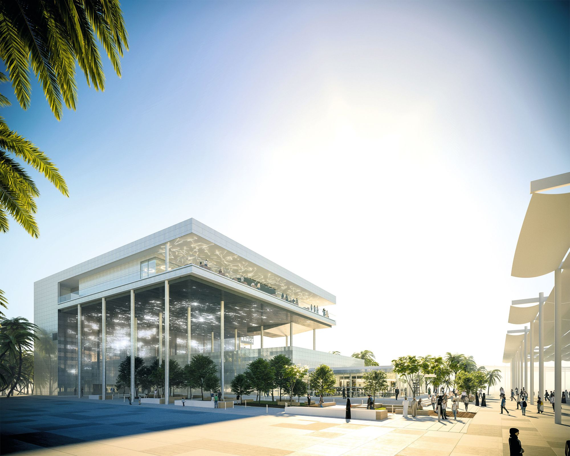 Pavillon France Dubaï 2020